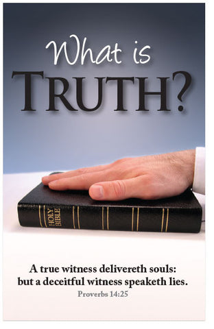 What Is Truth? (KJV) (Preview page 1)