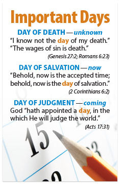 Important Days (Mini Tract, KJV)