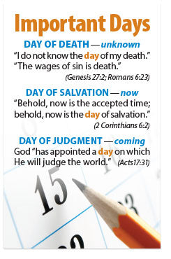 Important Days (Mini Tract, NKJV)
