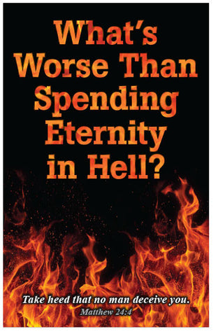 What's Worse Than Spending Eternity in Hell? (KJV) (Preview page 1)