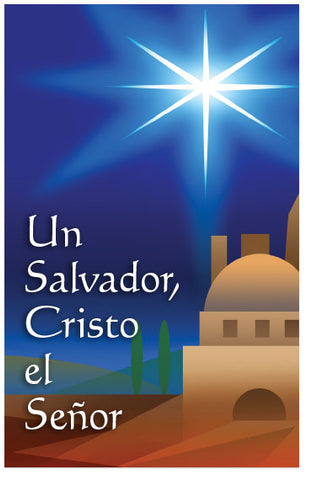 A Savior, Christ the Lord (Spanish)