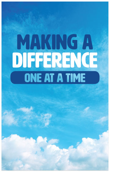 Making A Difference: One At A Time