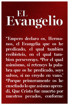 The Gospel (Mini Tract, Spanish)