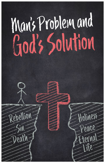 Man's Problem and God's Solution