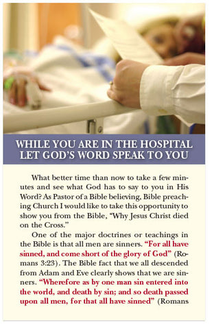 While You Are In The Hospital (KJV) (Preview page 1)