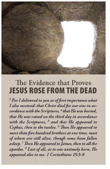 The Evidence That Proves Jesus Rose From The Dead