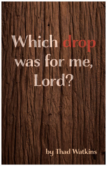 Which Drop Was For Me, Lord?