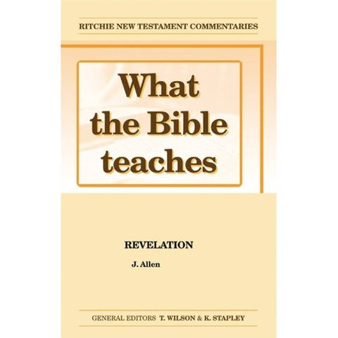 What the Bible Teaches, Revelation