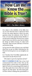 How Can We Know The Bible Is True? (Part 3 of 5)