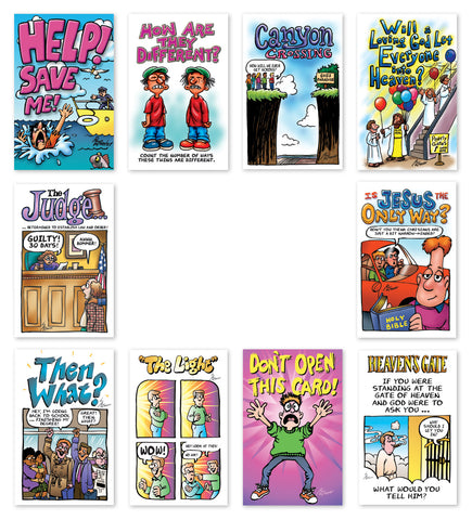 Cartoon Tracts Assortment