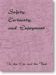 Safety, Certainty and Enjoyment, Deluxe Edition