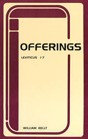 Leviticus Volume 1--Offerings