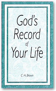 God's Record of Your Life