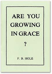 Are You Growing in Grace?