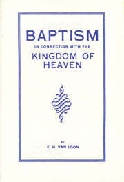 Baptism in Connection with Kingdom of Heaven