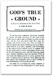 God's True Ground