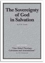 The Sovereignty of God in Salvation