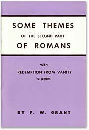 Some Themes of Romans