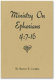 Ministry on Ephesians 4:7-16