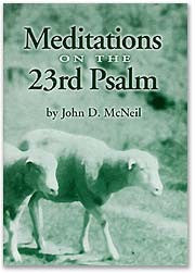 Meditations on the 23rd Psalm