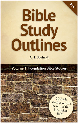 Bible Study Outlines, Volume 1