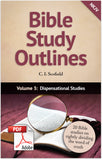 Bible Study Outlines (Printable eBook)