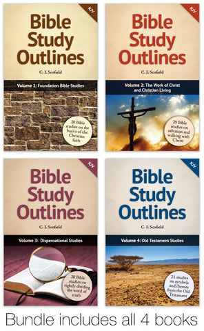 Bible Study Outline Bundle