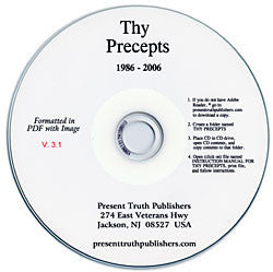 Thy Precepts Magazine on CD