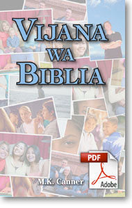 Young People of the Bible (Swahili): Vijana Wa Biblia (Printable eBook)