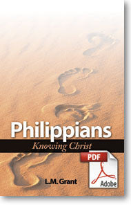 Philippians: Knowing Christ (Printable eBook)