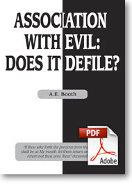Association With Evil: Does It Defile? (Printable eBook)