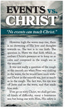 Events vs. Christ (Preview page 1)