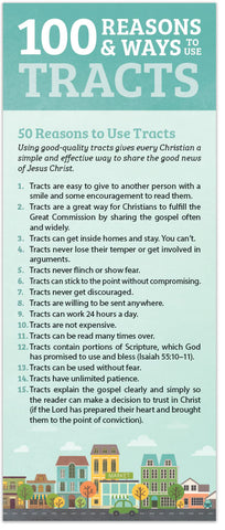 100 Reasons and Ways to Use Gospel Tracts