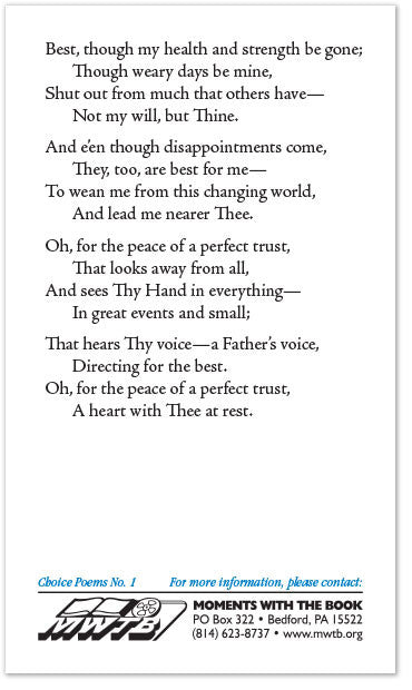 Poems About Trust 6