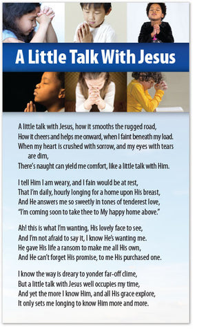 A Little Talk With Jesus (Preview page 1)