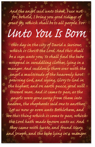 Unto You Is Born (Preview page 1)
