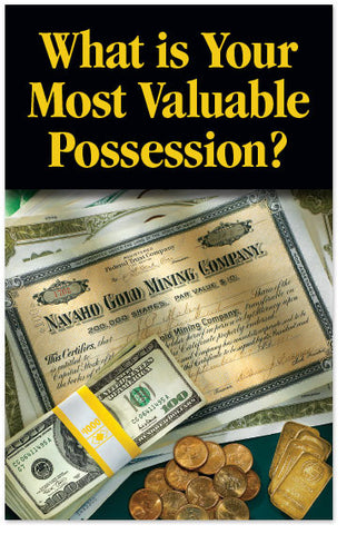 What is Your Most Valuable Possession? (Preview page 1)
