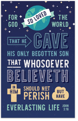 God's Way Of Salvation (John 3:16)