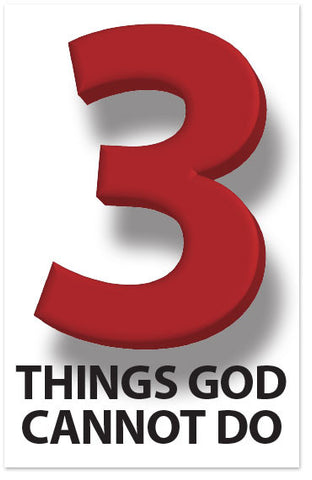 3 Things God Cannot Do (Preview page 1)
