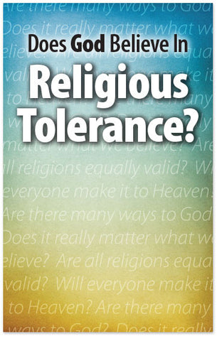 Does God Believe in Religious Tolerance? (Preview page 1)