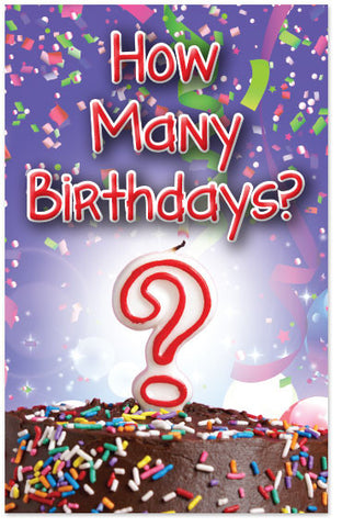 How Many Birthdays? (Preview page 1)