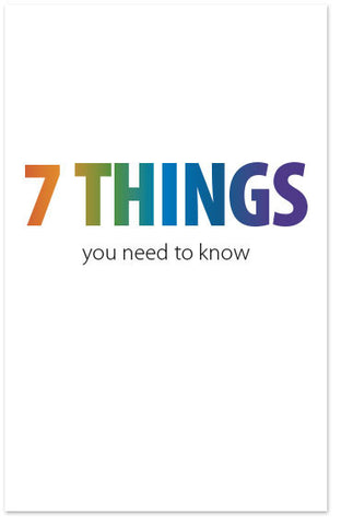 7 Things You Need to Know (Preview page 1)
