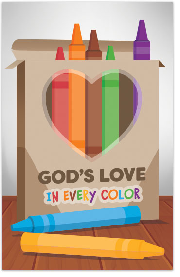 God's Love In Every Color