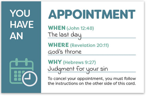 You Have An Appointment