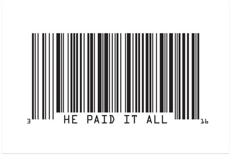 He Paid It All