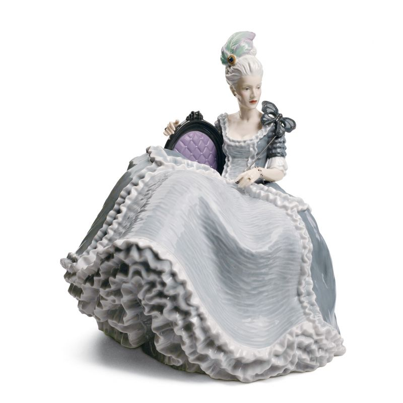 Rococo Lady at the Ball 1008423