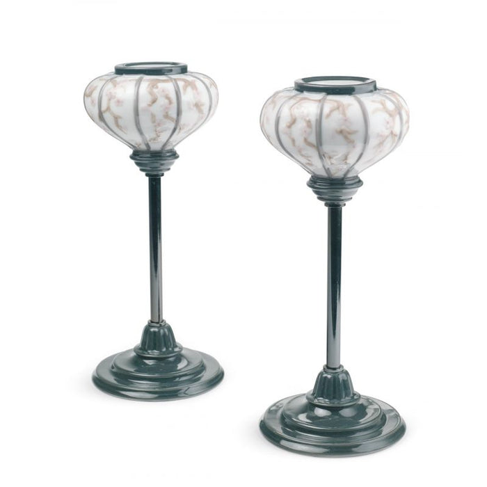 Japanese Lamp stands (Pair) 1008454