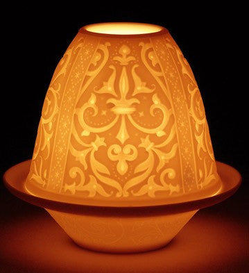 LITHOPHANE VOTIVE LIGHT - RENAISSANCE 1017312