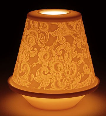LITHOPHANE VOTIVE LIGHT - LACE 1017337