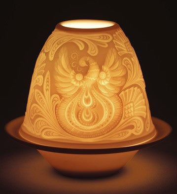 LITHOPHANE VOTIVE LIGHT-FATHER FROST 1017363
